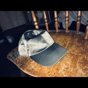 Other - Satin Olive Green Cap